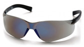 Pyramex ~ MINI Ztek Safety Glasses ~ Blue Mirror Lens