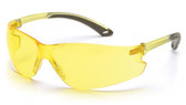Pyramex ITEK Safety Glasses ~ Amber Lens