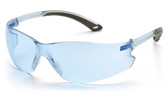 Pyramex ITEK Safety Glasses ~ Infinity Blue Lens