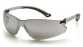 Pyramex ITEK Safety Glasses ~ Silver Mirror Lens