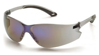 Pyramex ITEK Safety Glasses ~ Blue Mirror Lens