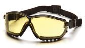 Pyramex V2G Goggles ~ Fog Free Amber Lens