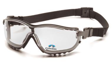 Pyramex V2G Goggles ~ Fog Free Clear Lens ~ 2.5 Magnification