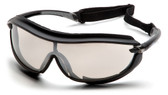 Pyramex XS3 Plus Safety Glasses ~ Black Frame - Indoor/Outdoor Anti-Fog Lens