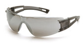 Pyramex Endeavor ~ Dielectric Safety Glasses ~ Silver Mirror Lens