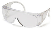 Pyramex Solo Safety Glasses ~ Clear Lens