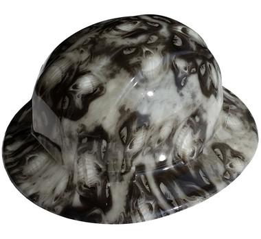 Hades Hydro Dipped Full Brim Hard Hats pic 1