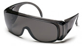 Pyramex Solo Safety Glasses ~ Smoke Lens