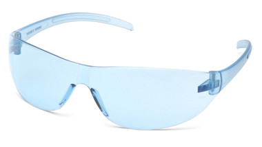 Pyramex Alair Safety Glasses ~ Infinity Light Blue Lens