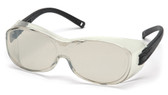 Pyramex OTS ~ Safety Glasses ~Indoor Outdoor Lens Oblique