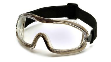 Pyramex Capstone ~ Low Profile Goggles ~ Clear Lens