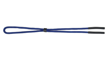 Adjustable neck cord with rubber tips ~ (BLUE)
