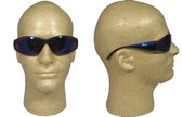 ERB Boas Wraparounds ~ Safety Glasses ~ Blue Mirror Lens