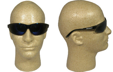 Super ERB ~ Safety Glasses ~ Blue Mirror Lens