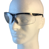 Uvex Genesis Safety Glasses ~ Black Frame ~ Clear Lens