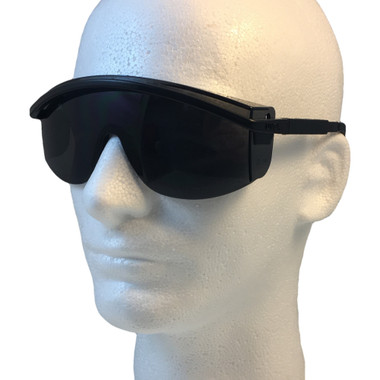 Uvex Astrospec 3000 Glasses ~ Black Frame ~ Smoke Lens