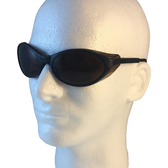 Uvex Bandit Safety Glasses ~ Black Frame ~ Espresso Lens