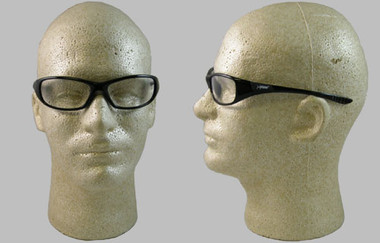 Jackson Hellraiser Safety Glasses ~ Clear Lens