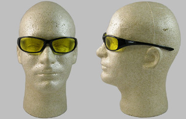 Jackson Hellraiser Safety Glasses ~ Amber Lens