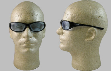 Jackson Hellraiser Safety Glasses ~ Light Blue Lens