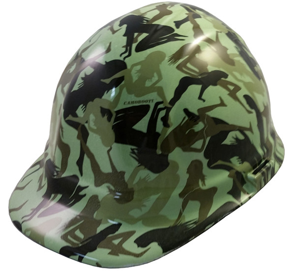 Bootie Girl Light Green Hydro Dipped Hard Hats Cap Style. Loading zoom 416457a453f1