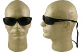 AO Safety Glasses Fuel II Series ~ Black Frame and Smoke Lens