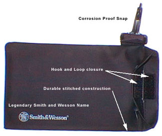 Smith and Wesson ~ Glass Carrying Case