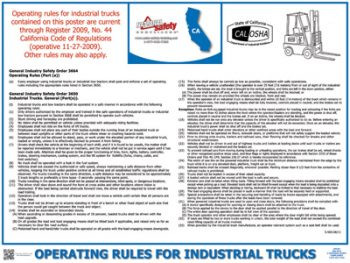 California State Labor Law Posters