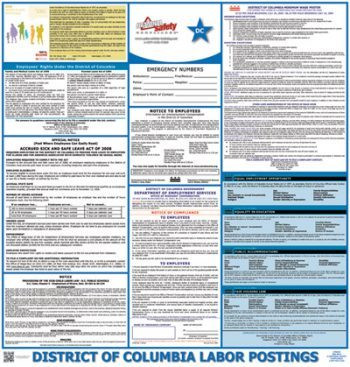 District of Columbia State Labor Law Posters