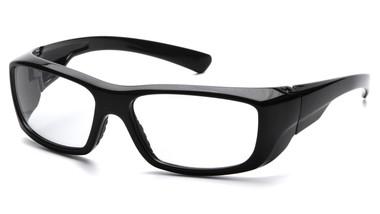 Pyramex Emerge ~ Standard Glasses ~ Black Frame ~ Clear Lens
