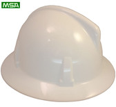 MSA Topgard  ~ White ~ Right Side View