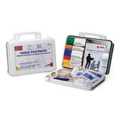 Vehicle First Aid Kit ~ 94 Piece - Plastic Case