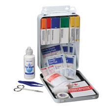 Vehicle First Aid Kit ~ 94 Piece - Metal Case