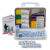 Welders First Aid Kit ~ 16 Unit, Plastic Case