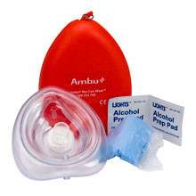 6-Piece Ambu® Res-Cue CPR Mask Kit