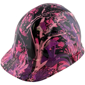 Muddy Girl Pink Hydro Dipped Hard Hats Cap Style