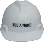Custom Names for Hard Hats and more