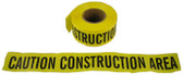 Barrier Tape Caution Construction Area Yellow Rolls Pic 1