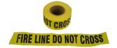 Barrier Tape Fire Line Do Not Cross 1000 Foot Rolls Pic 1