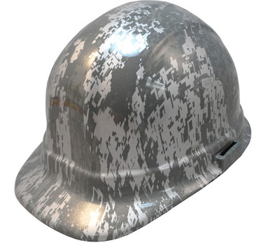Digital Camo Hydro Dipped Cap Style Hard Hat pic 1