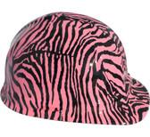 Zebra Pink Hydro Dipped Cap Style Hard Hat pic 1