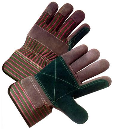 Single Palm Work Gloves w/ Standard Safety Cuffs Pic 1