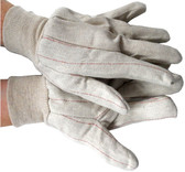 MCR Cotton Red Line Economy Gloves Pic 1