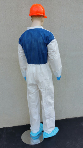 Suntech Cool Standard Coveralls w/ Breathable Back Panel  pic 3