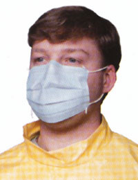 Surgical Tie Mask (1000 per case)   pic 1