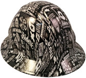 Bits and Bobs Hydro Dipped Hard Hats Full Brim Style