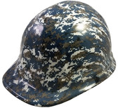 Navy Digital Camo Hydro Dipped Cap Style Hard Hat pic 1