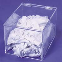 Glove Dispenser Liner w/ Round Opening  Pic 1