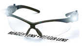 PMXtreme Fog Free Clear Safety Glasses w/ LED Lights, & 2.0 Bifocal Lens Front