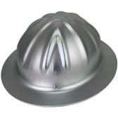 Skullbucket Aluminum Full Brim Hardhats ~ Suspension  ~ Oblique